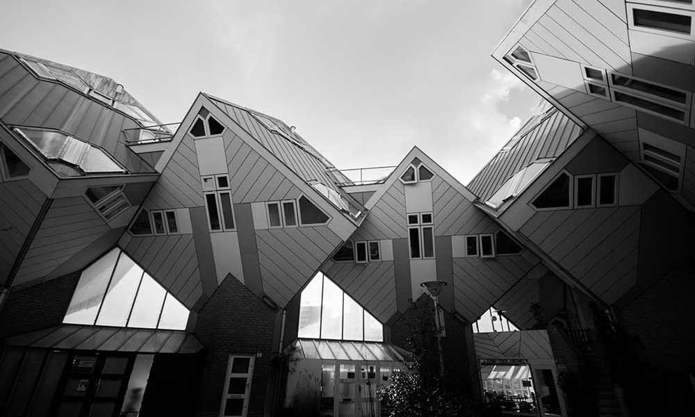 NETZplan Andrea Heinevetter - Projektcoaching: Cube Houses Rotterdam